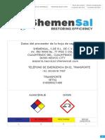 3.-Hoja de Seguridad de Materiales BLAST ATFM
