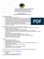 Facilitador(a) de Programas Académicos - Instituto Monteverde