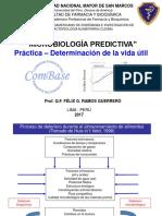 Microbiología Predictiva - FFyB - UNMSM 2017 (Práctica - Vida Útil)