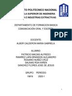 Archivo Comunicacion Oral y Escrita Para Imprimir.docx