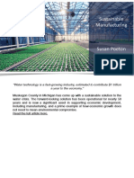 Sustainable Manufacturing - Susan Poeton