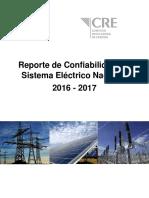 Reporte de Confiabilidad de Electricidad