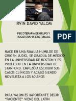 Clase 2 Irvin David Yalom