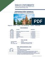 01 Información General sobre estudios en Rusia