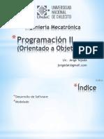 Programación Orientada a Objetos C01