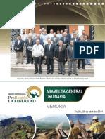 Asamblea General Pro Region la libertad