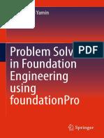 Problem Solving in FoundationPro