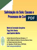 Salinizacao Do Solo - Maria Conceicao Goncalves INRB