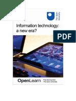 Information Technology a New Era