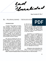 Pluralidad Teologica