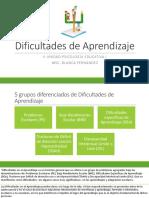 5. Dificultades de Aprendizaje.pptx