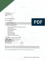Modelo carta autorización examen ingreso empresarial