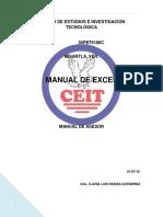 Manuales de Excel