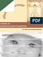 Síntesis de Antropología Filosófica