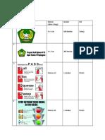 Daftar Pemesanan Stiker