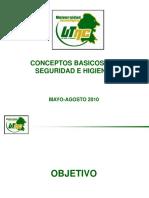 Conceptos Básicos de Seguridad e Higiene - UTNC