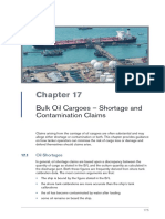 Bulk Oil Cargoes - Shortage and Contamination Claims