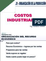 Costos Industriales - Ingeniero Horacio Ferrero
