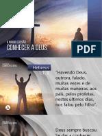 1_a Maior Decisao Conhecer a Deus