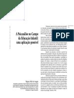 A Psicanálise no campo da educação infantil.pdf