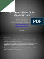 Automatización de La Manufactura - Orlando Durán