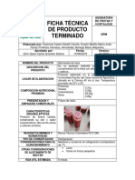 Ficha Técnica Vino de Piña