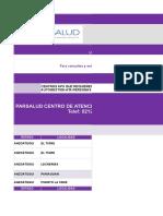 Copia de RED ATENCION MEDICA PRIMARIA PARSALUD JUNIO 2019 PARSALUD.xlsx