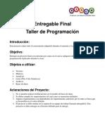 Final programación