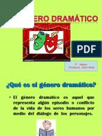 GÉNERO DRÁMATICO