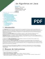 Codificación de Algoritmos en Java