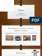 Revestimientos Interiores, Revoques y Graníticos