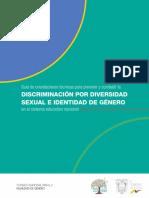 Guia para prevenir discriminación por diversidad sexual
