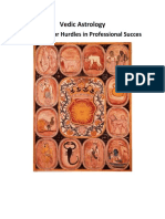 Vedic Astrology Remedies for Hurdles in Professional Success