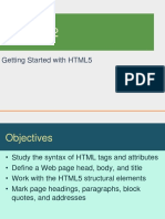 Lesson 02 - Getting Started With HTML5