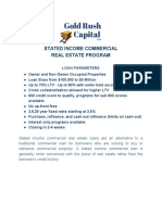 Loan Program_ Stated Commercial