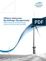 Offshore Wind Power Big Challenges Big Opportunity
