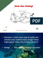 Ekosistem Dan Ekologi