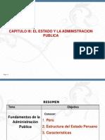 CAPITULO III  ESTADO PERUANO ADMINISTRACION PUBLICA 03-05-2019.ppt
