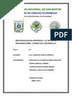 Grupo 1 - La Industrializacion Periferica