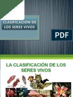 CLASIFICACIÓN DE LOS SERES VIVOS SEXTO 2017.pptx