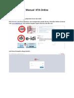 Manual KTA online