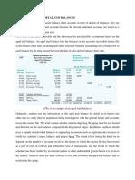 Designing Test of Details of Balances