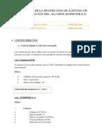 Inversion Fija de La Planta de Produccion de Acetona via Deshidrogenacion de Alcohol Isopropilico (1)