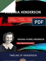 Henderson - 14 Basic Human Needs Theory