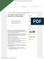 Activar Varias Cuentas en Google Drive