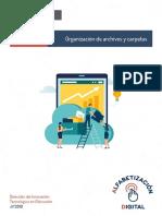 Guía Didáctica - Organización de Archivos y Carpetas