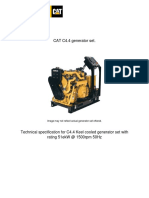 Caterpillar C4.4DIT Generator Set