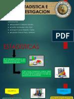 Diapositivas Tema Estadistica e Investigacion