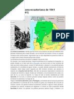 Guerra Peruano- Ecuador