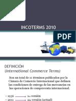 definición y características de los INCOTERMS
